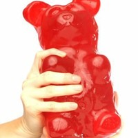 Giant Gummy Bear approx 5 Pounds - Cherry Flavored Giant Gummy Bear