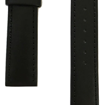 Movado Black Leather 20mm Strap Band for Watch Models 0606873, 0606874, 0606875