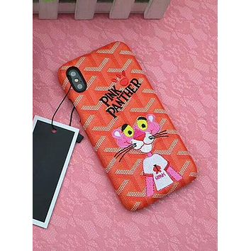 Pink Panther iPhone8 Apple iPhone 7plus Cute Cartoon Mobile Shell F-OF-SJK 10