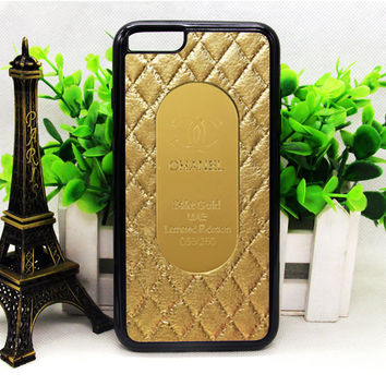 CHANEL GOLD QUILTED IPHONE 6 | 6 PLUS | 6S | 6S PLUS CASES