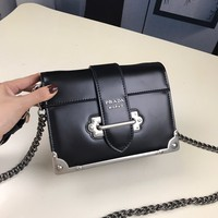 PRADA Clutch Messenger Bag  ECS026863