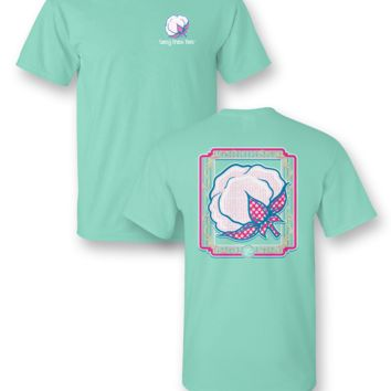 Sassy Frass Seersucker Cotton Comfort Colors Girlie Bright T Shirt