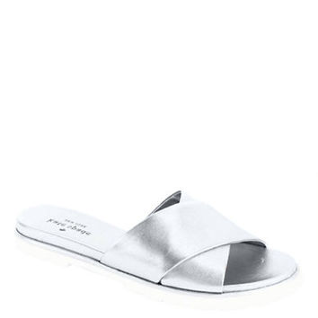 Kate Spade New York Markey Metallic Leather Sandals