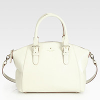 Kate Spade White Sloan Small Satchel