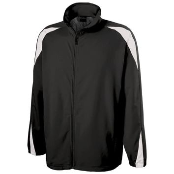 Nylon Warm-up Full Zip Jacket