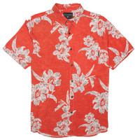Billabong Men's Hawaiian Crackle Woven Shirt