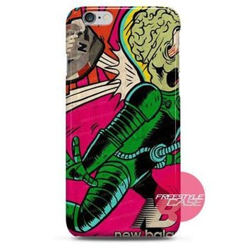 ONETOW new balance alien iphone case 3 4 5 6 cover