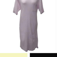 3 Solid Color Cotton Nightgowns - 4x - Size 4x