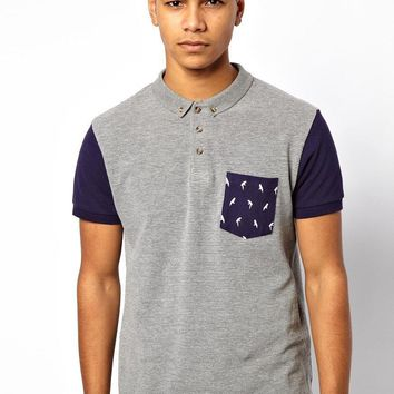 Bellfield Polo Shirt With Pocket