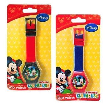 Party Favors Mickey Mouse Digital Watch on Blister Card 2 Asstd.