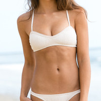 The Girl and The Water - Made By Dawn - Sea Shell Bikini Top / Beach - $95