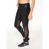 Spliced Legging with Mesh and Reflective Tape