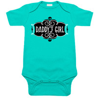 Daddy's Girl Aqua One Piece