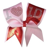 I Love One Direction Cheer Bow