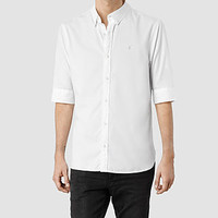 Mens Redondo Half Sleeved Shirt (White) | ALLSAINTS.com