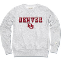 University of Denver Crew Neck Sweat Shirt | University of Denver
