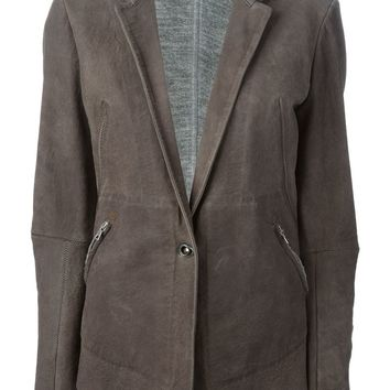 Isaac Sellam Experience leather blazer