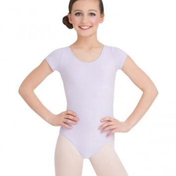 Child Short Sleeve Leotard (Lavender) CC400C