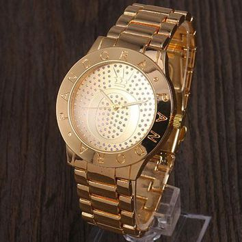 PANDORA Men's and Women's Trendy Quartz Watches F-YY-ZT gold