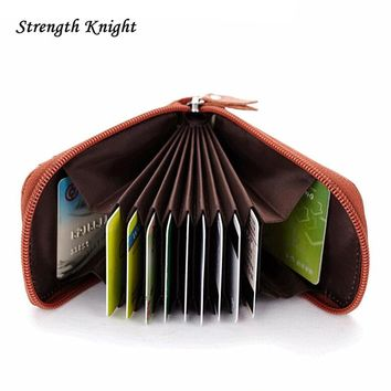 2016 Casual Fashion Genuine Leather Wallets Men Standard With Card Holder Coin Pocket High Quality Cow Leather Clutch Purse Z86