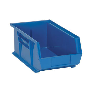 Quantum Storage Systems Ultra Stack And Hang Bin 13-5/8Lx 8-1/4Wx 6H - Blue Pack Of 12