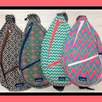 Monogrammed Kavu Paxton Bag like the Rope Bag