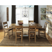 Signature Design by Ashley Krinden Counter Height Extendable Dining Table