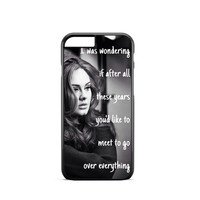 Adele Hello Lyric iPhone 6s Case