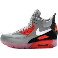 Nike Air Max 90 Sneakerboot Ice - Wolf Grey/Anthracite/Infrared Red/White