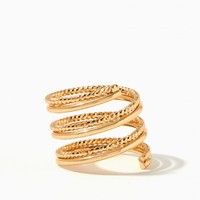 Squiggle Coil Ring | Charming Charlie