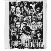 Rapper Shower curtain