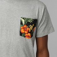 10 Deep Printed Pocket Tee