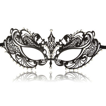 Rhinestone Sexy Dress Masquerade Mask