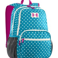 Under Armour Girls Great Escape Backpack, Teal Ice, One Size