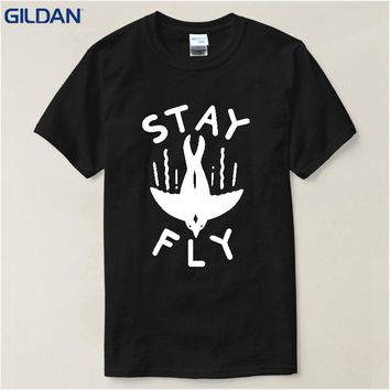 Stay Fly T-Shirts - Men's Crew Neck Top Tees