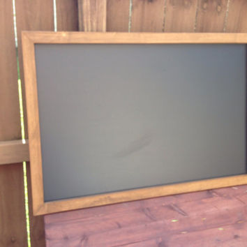 Rustic Framed Chalkboard, Rustic Wedding Chalkboard, Kitchen Menu, Menu Board, Rustic Frame
