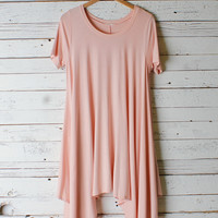 Flowy Short Sleeve Dress