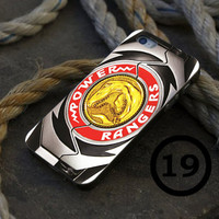 Power Rangers Red Belt - iPhone 4/4s, iPhone 5/5S, iPhone 5C and Samsung Galaxy S3/S4 Case.