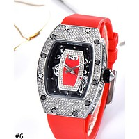 RICHARD MILLE 2019 new women's high-end full diamond ladies quartz watch #6