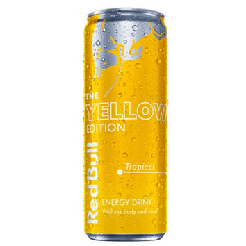 red bull yellow edition energy drink 8 4 from tal depot too. Black Bedroom Furniture Sets. Home Design Ideas