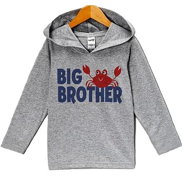 Custom Party Shop Baby Boy's Big Brother Summer Hoodie Pullover