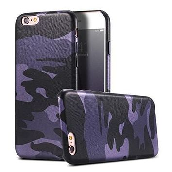 Purple Camo Military Camouflage Phone Case For iPhone 7 7Plus 6 6s Plus 5 5s SE