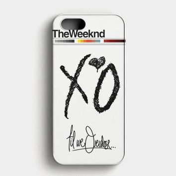 The Weeknd Xo Till Overdose iPhone SE Case