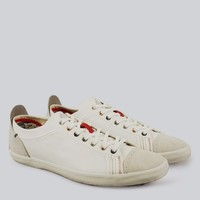 Paul Smith - White Suede Vestri Trainers | SHOES | nigelclare.com