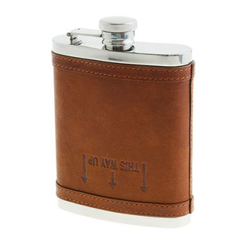 J.Crew Mens Leather Flask