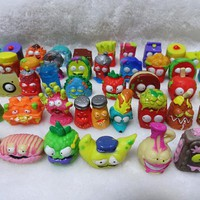O for U HOTSALE Original The Grossery Gang Mini Action Toys Figures Kids Playing Model Dolls Christmas Gift Toy 20Pcs/lot