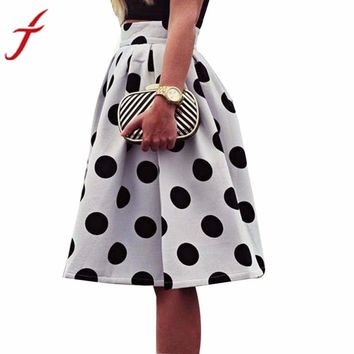 Skirt for Womens Bodycon Polka Dot Puff Skirts