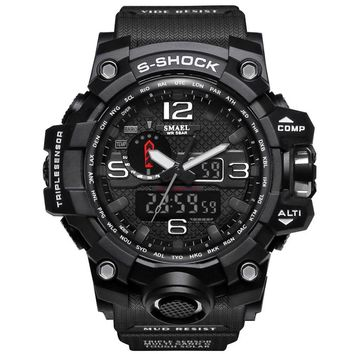Fashion Brand Watch Men G Style LED Swimming Sports Military Watches S-Shock Men's Analog Quartz Digital Watch relogio masculino
