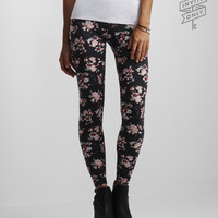 Invite Only Watercolor Floral Leggings