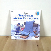 Disney's The Great Mouse Detective: Basil's Great Escapes {1986} Vintage Book